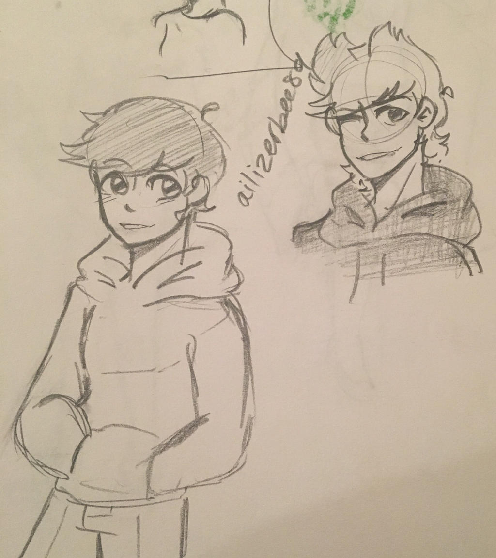 Tord and Edd doods by Ailizerbee08