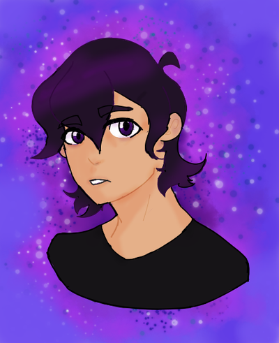 Keith - Purple Everywhere  by Ailizerbee08