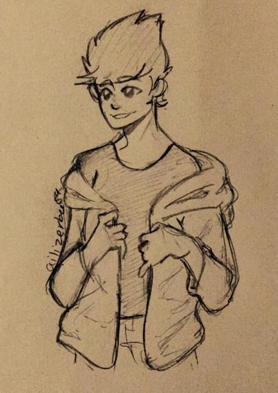 Matt doodle :)  by Ailizerbee08