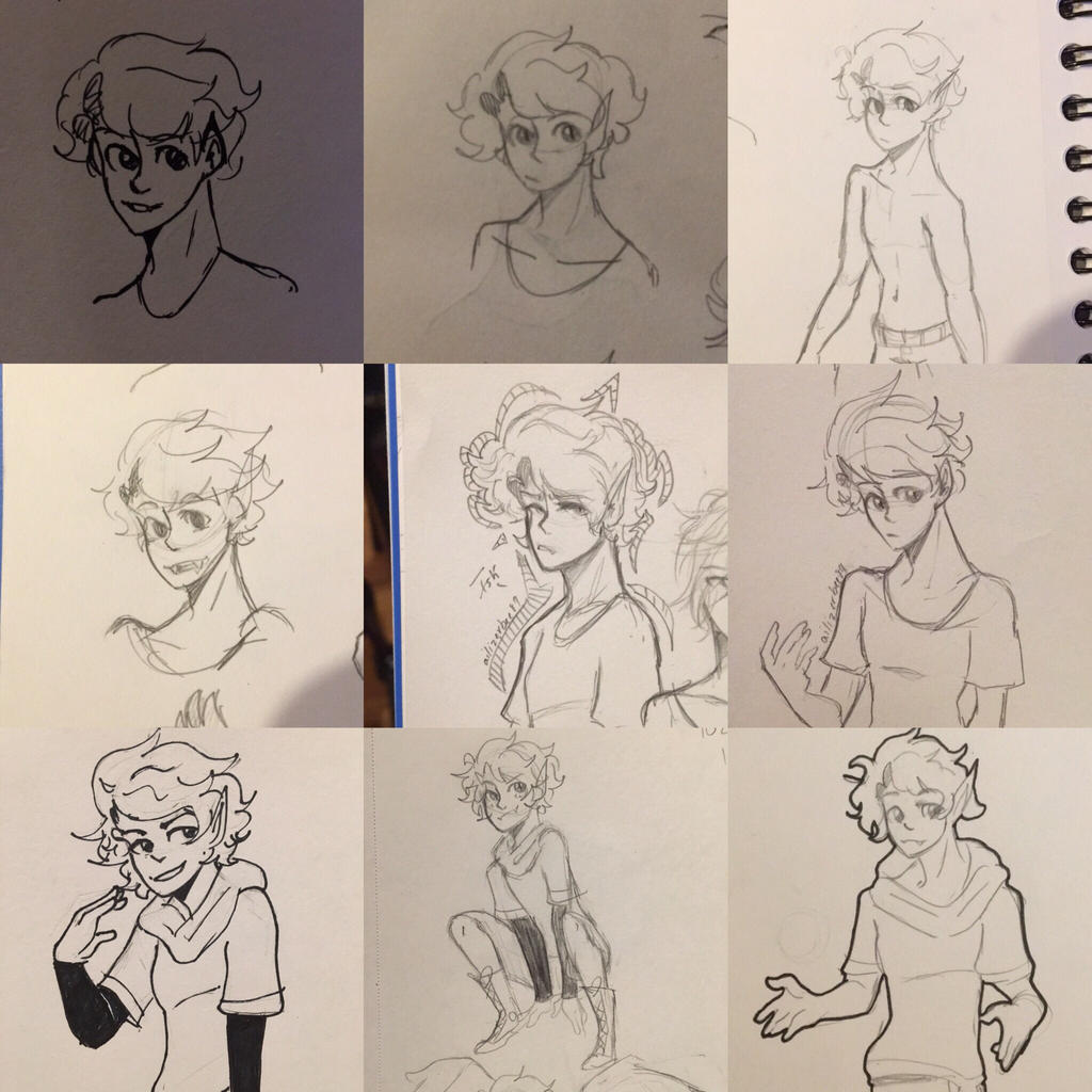 Astel Doodles  by Ailizerbee08