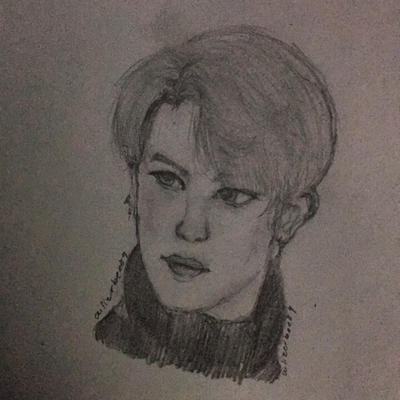 Jimin BTS  by Ailizerbee08