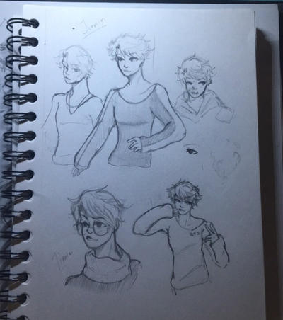 Jimin Doodles  by Ailizerbee08