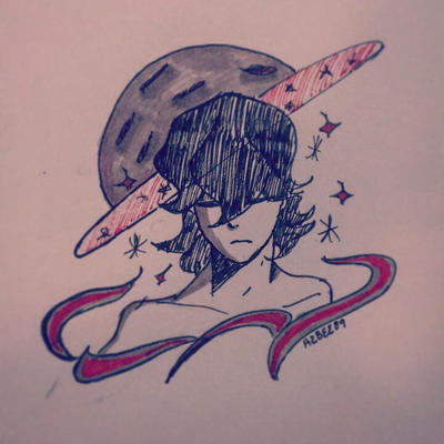 Inktober Day 1 StarsKeith  by Ailizerbee08