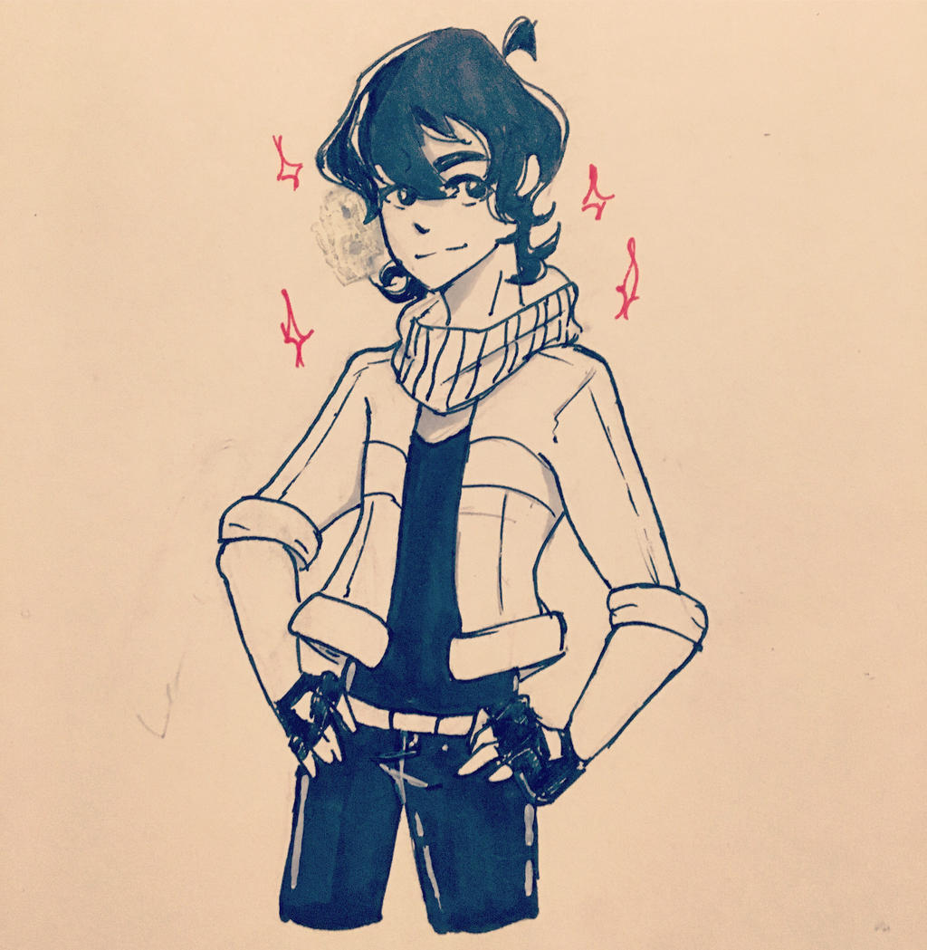 Inktober Day 23 Keith  by Ailizerbee08