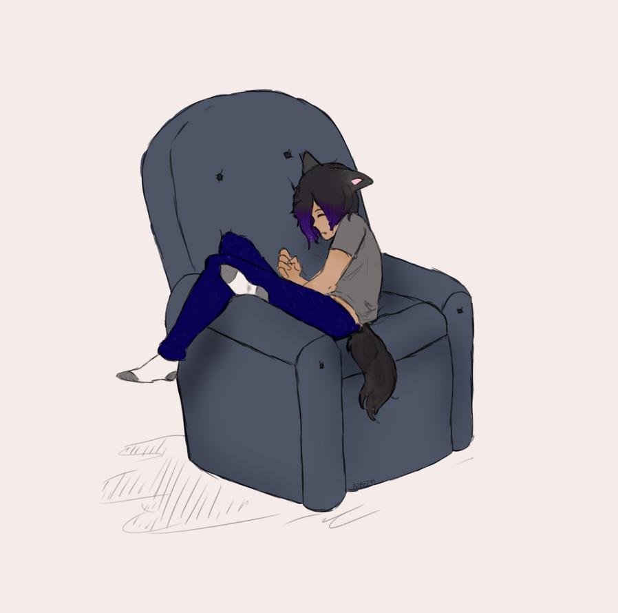 Sleepy boi  by Ailizerbee08