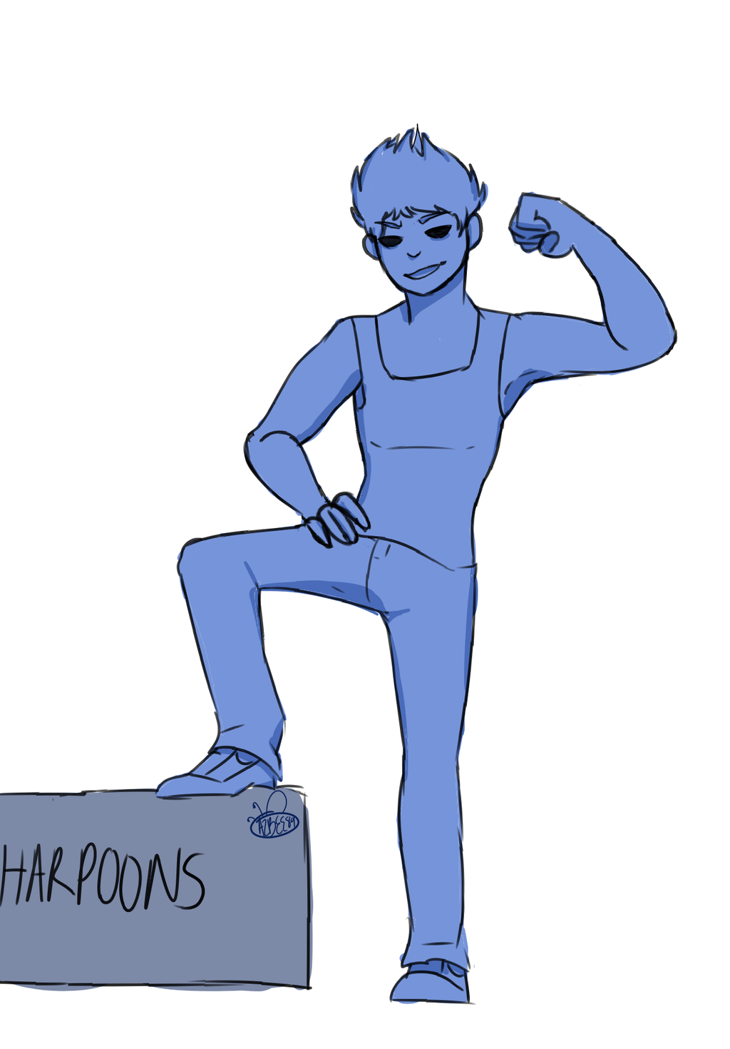 Strong Boi by Ailizerbee08
