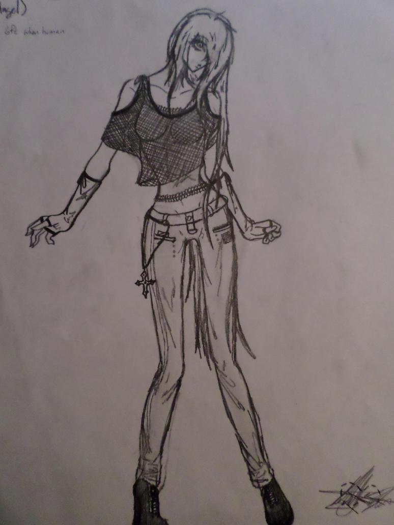 Celesta (Human) by Katty-Waterbender