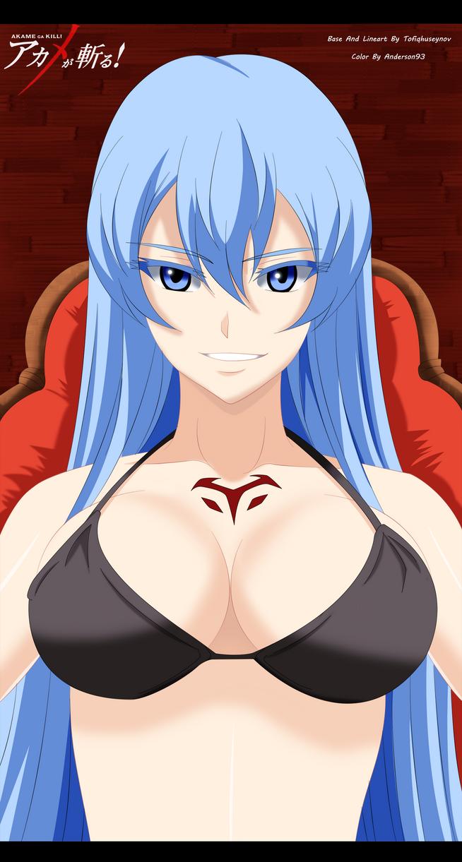 Akame Ga Kill - Esdeath Bikini by Anderson93