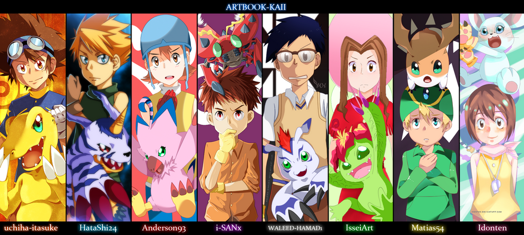 Digimon   Collab by Anderson93