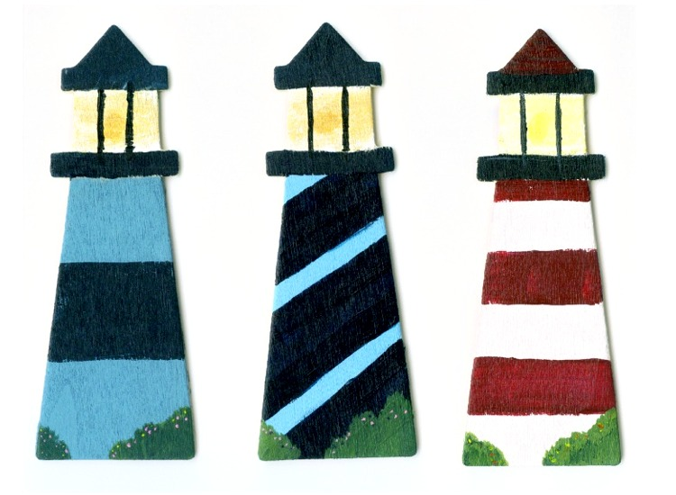 Toll Painting_Lighthouses by reenas-as