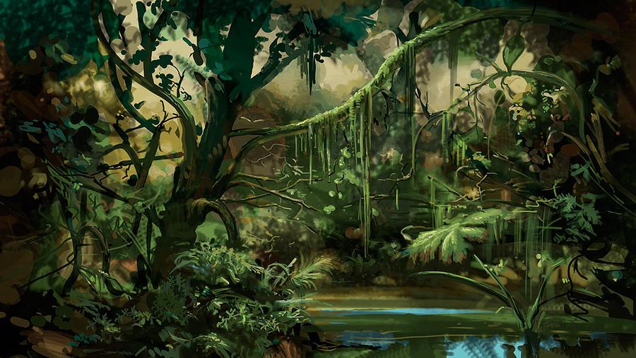 Jungle by Stungeon
