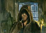 Aragorn Sketch Card ACEO