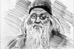 Dumbledore Sketch Card ACEO