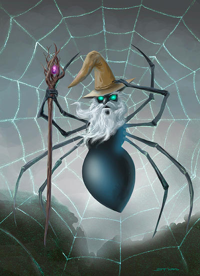 Spider Wizard by Stungeon
