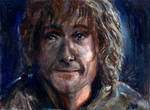 Pippin Lord of the Rings Sketch Card