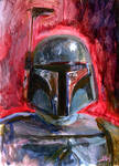 Boba Fett Sketch Card