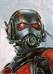 Ant-Man Sketch Card by Stungeon