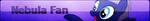 Nebula Fan Button -For GothNebula- by BIueMoon