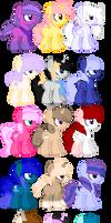 Huge Pony Adopt Sheet - CLOSED -