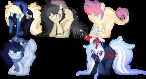 Pony Customs - Batch 1 by BIueMoon