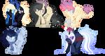 Pony Customs - Batch 1