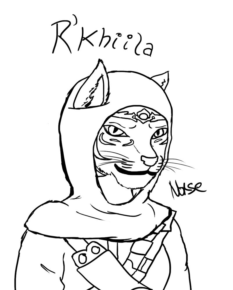 R'khiila WIP by Norse98