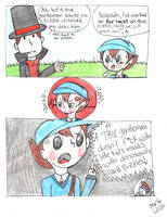 Professor Layton Comic by NajikaSun