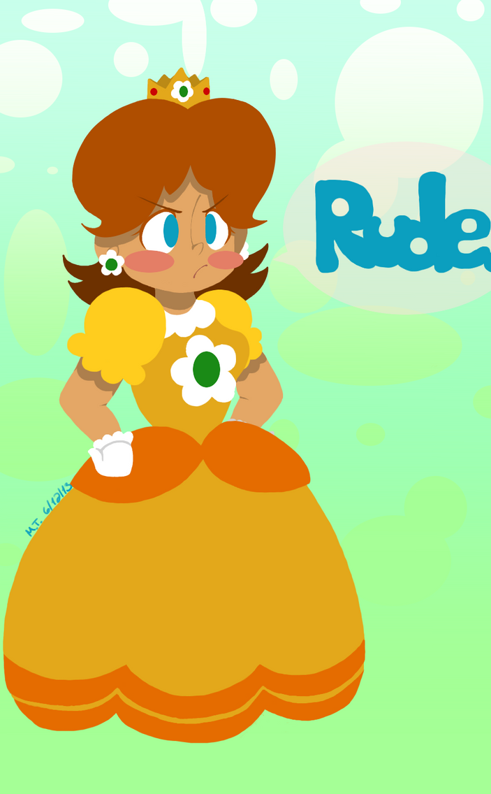 Rude. by NajikaSun