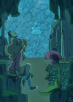 Reflections - Professor Layton Zine Entry by NajikaSun