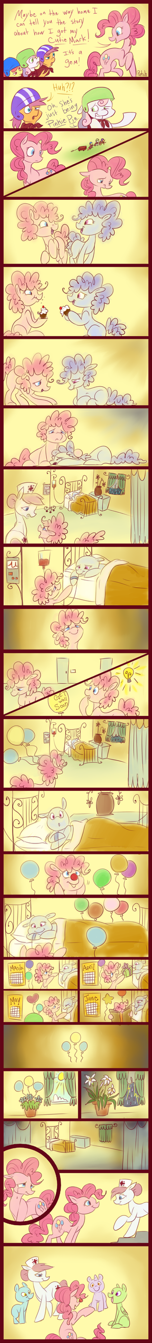 Carnations and Forget-Me-Nots by PashaPup