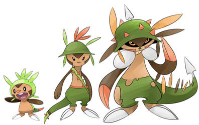 Chespin by PashaPup