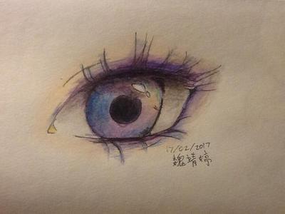 Rainbow eye by JingTingWei