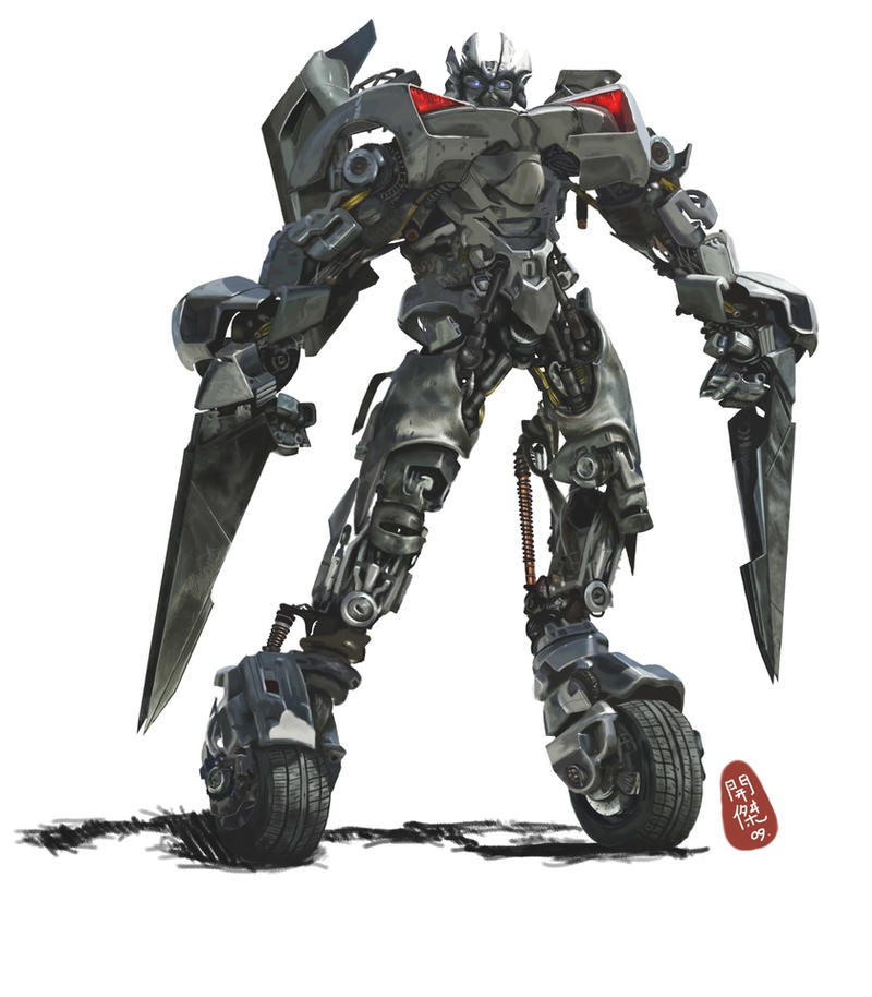 Transformers Movie Sideswipe by kitkeat
