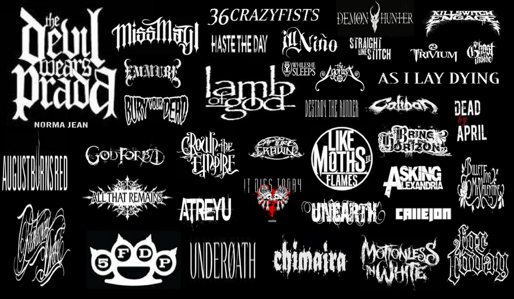 Metalcore Bands By Hicbar