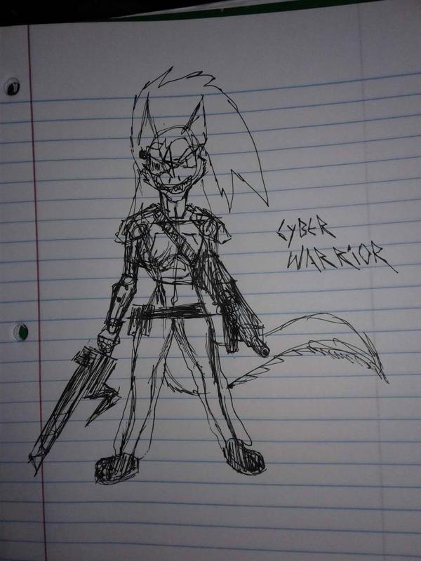 Cyber Warrior  by KhorentheRelentless