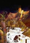 Steampunk Firebird by Flynn-the-cat
