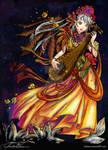 Angel of Music - lineart