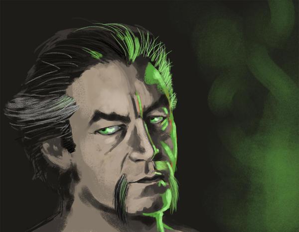 Ra's Al Ghul by saqattack
