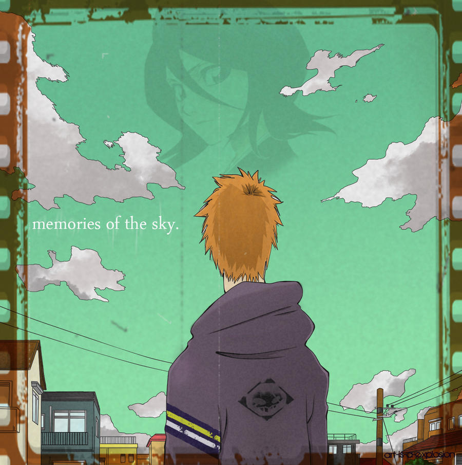 memories of the sky by Art-is-a-Explosion