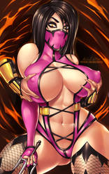 Mileena... and?! by Ange1Witch