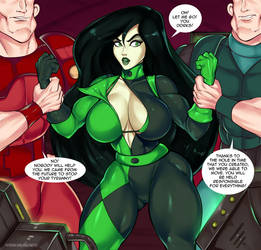 Shego. Double Portal. Page5