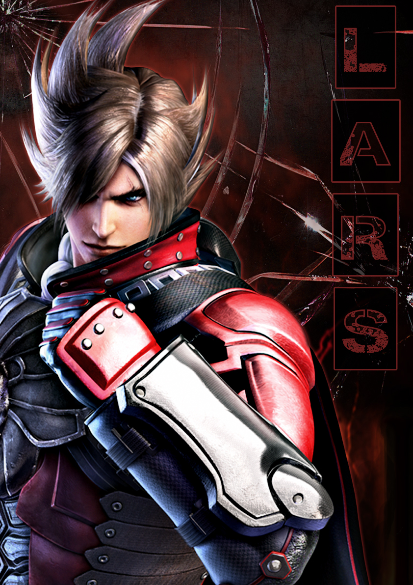 Tekken Red Lars Poster By TekkensArmorKing
