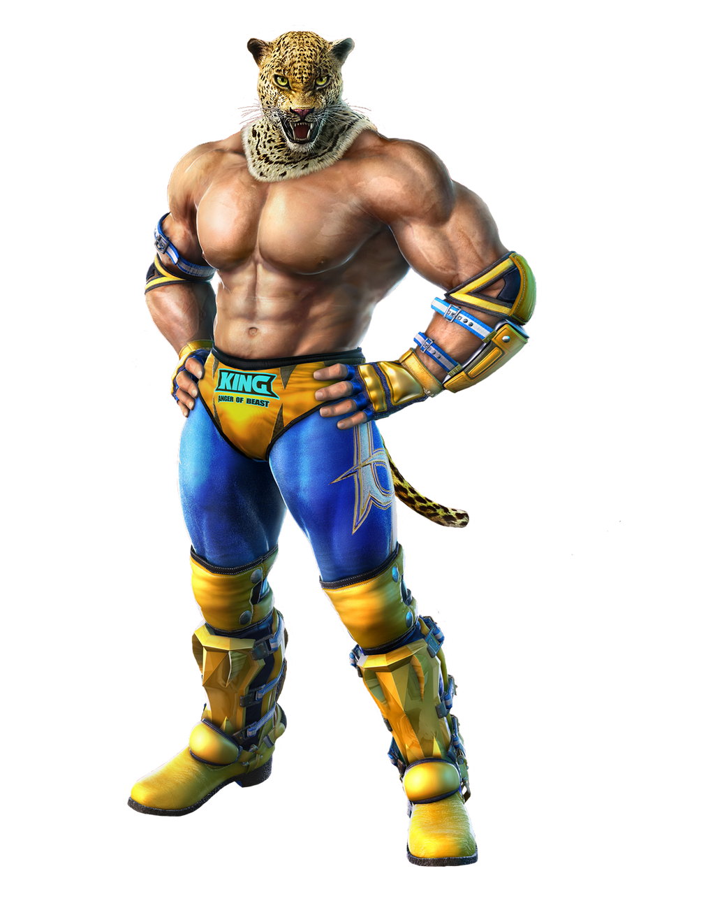 Tekken 7 King Png By Tekkensarmorking On Deviantart