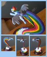 Sonic Rainboom Rainbow Dash by JBerg18