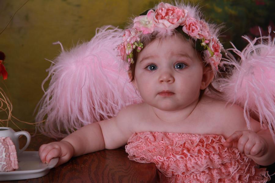 Angel baby 2 by JdawnArt