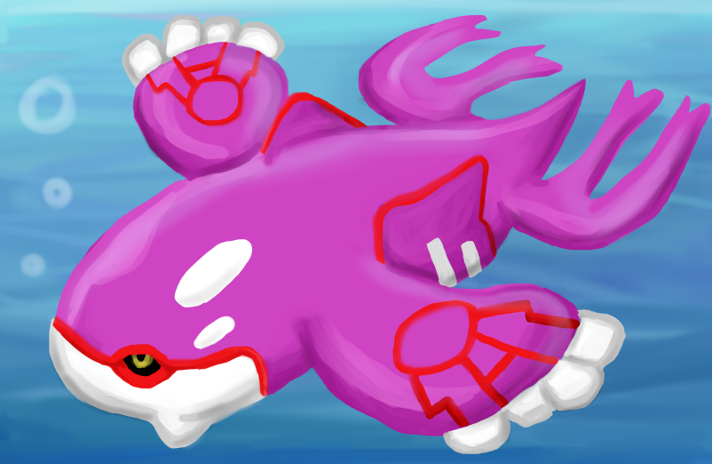 HatPop (Hat Pop) - DeviantArt Pokemon Shiny Kyogre