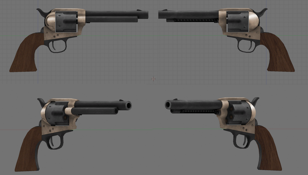 Colt Single Action textured by Beowulf71