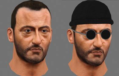 Leon's Head Textured