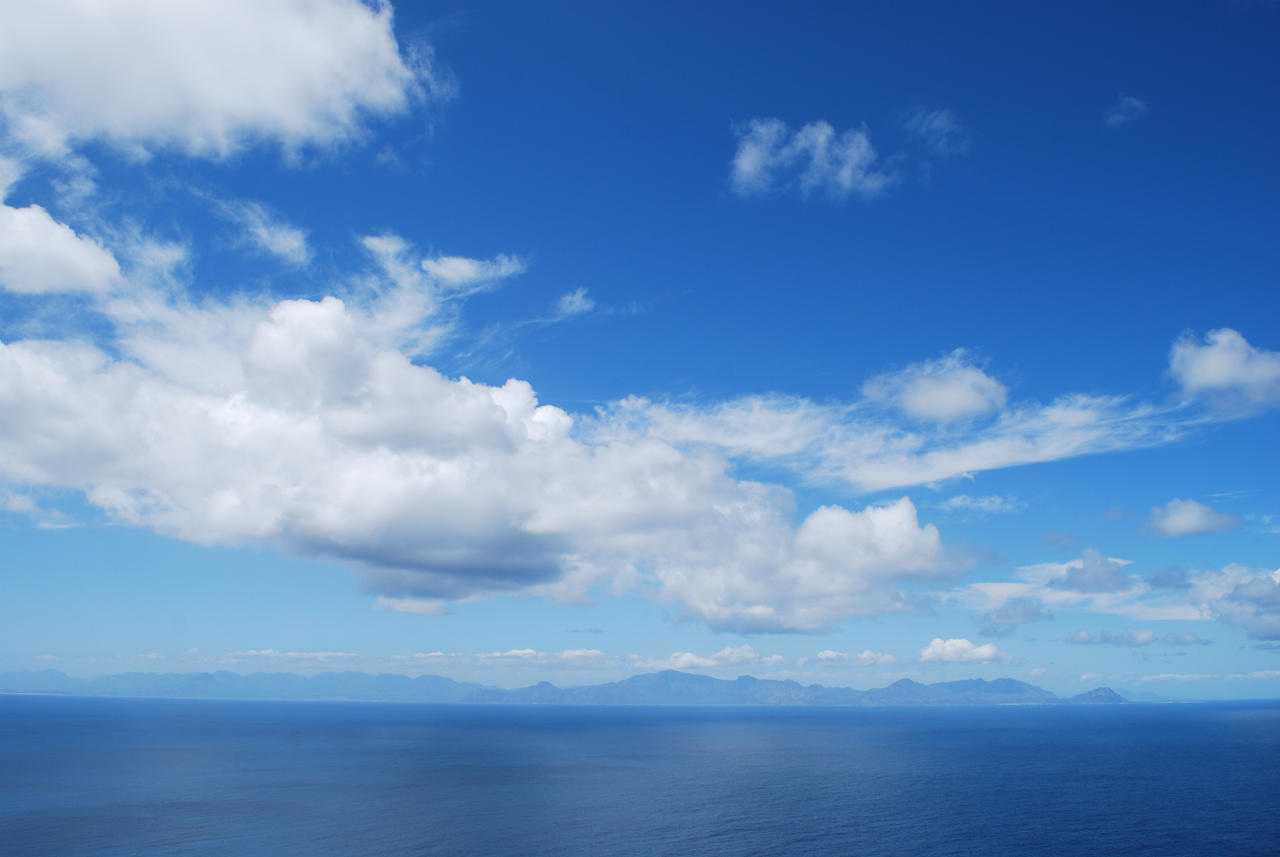 Blue Sky with Clouds by CompassLogicStock on DeviantArt