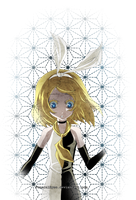The Disappearance of Kagamine Rin by FuneralEyes